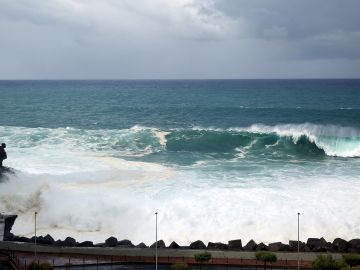 Fuerte oleaje en Tenerife