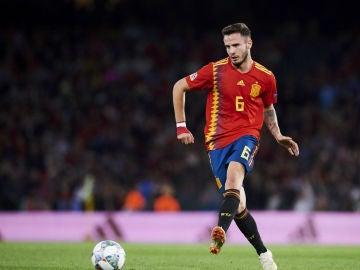 Saúl Ñíguez, con España