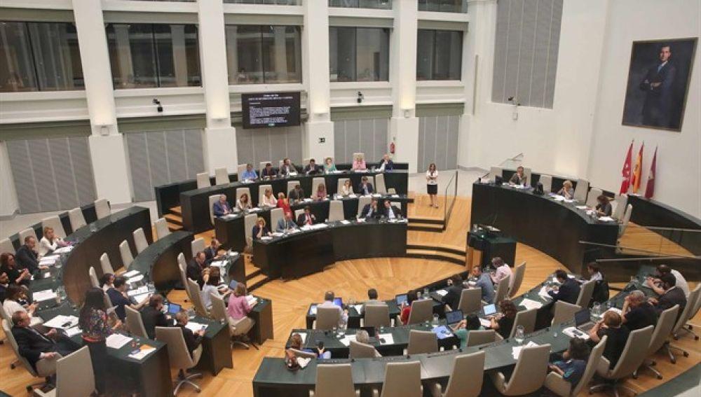 Imagen del pleno del Ayuntamiento de Madrid