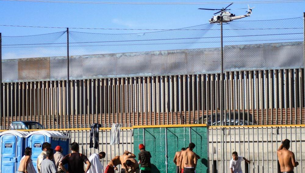 Imagen de la valla fronteriza