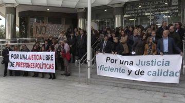 REEMPLAZO Jueces y fiscales realizan la segunda huelga en un año insistiendo en la independencia y mejoras profesionales