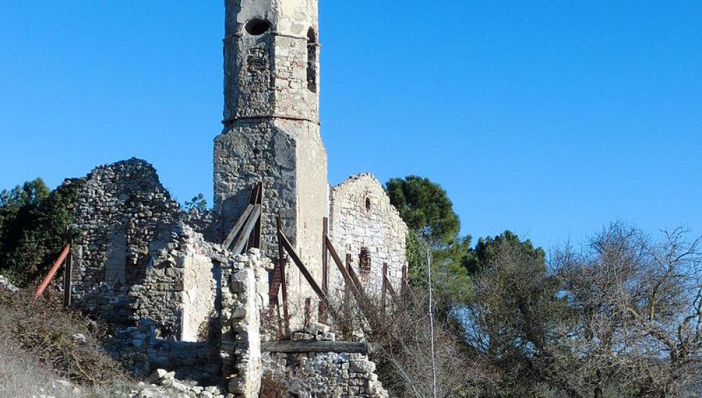 Iglesia de San Salvador en La Mussara