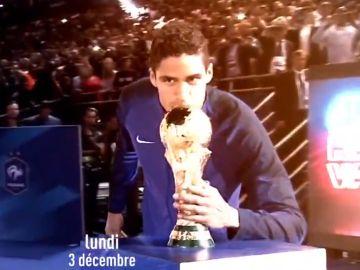 El vídeo promocional de L'Equipe para la gala del Balón de Oro