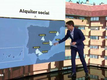 El Gobierno quiere construir 5.000 viviendas para alquilarlas por menos de 400 euros