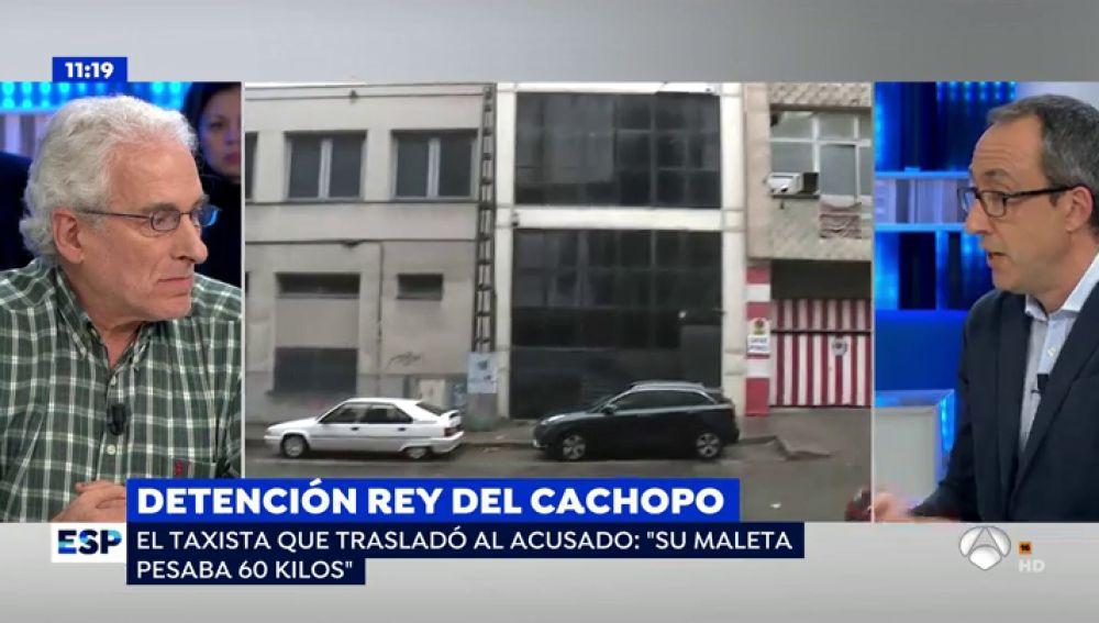 Indicio clave contra el 'rey del cachopo': El taxista que llevó a César a la nave reconoce la maleta del crimen