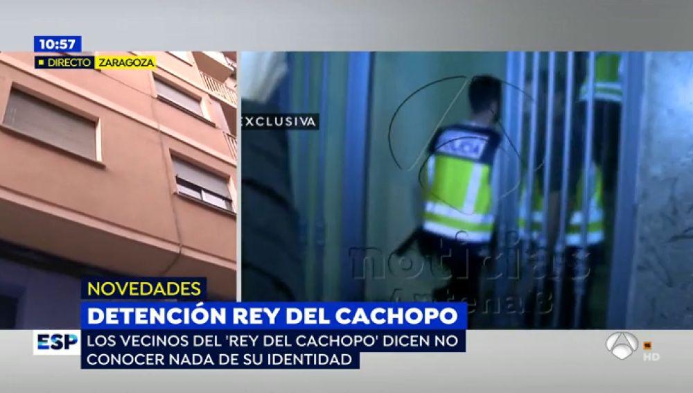 La compañera de piso del 'rey del cachopo' le amenazó con denunciarle por su actitud agresiva sin saber que la Policía estaba buscándole