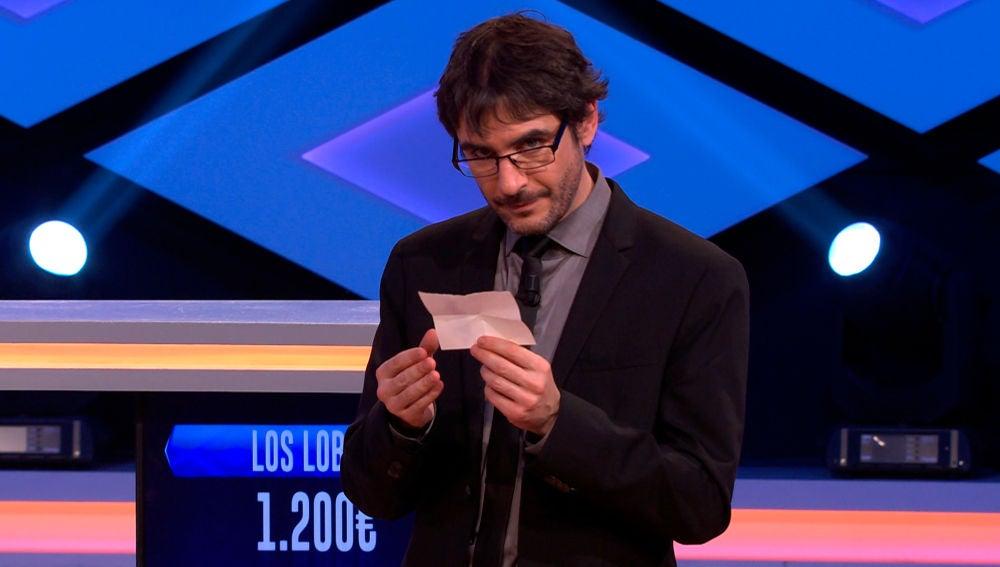 """La misteriosa nota de una persona del público de '¡Boom!' que 'fantasea' con uno de 'Los Lobos': """"Para mojar pan y no dejar ni los huesitos"""""""