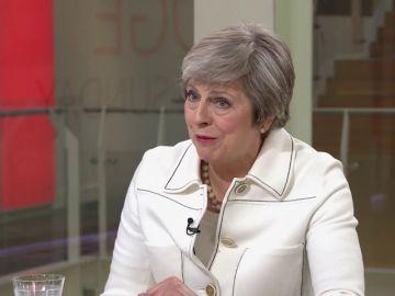 """May prevé una """"intensa semana de negociaciones"""" sobre el Brexit"""