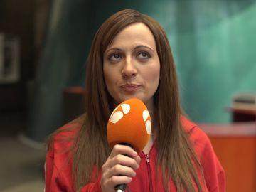 María Villalón se enfrenta al reto de cantar 'La Lluvia' a tres voces
