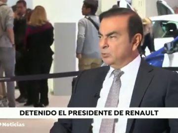 Detienen en Japón al máximo dirigente de Renault y Nissan por irregularidades fiscales