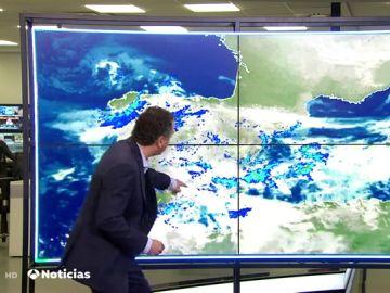 ¿Por qué está lloviendo tanto en el sureste peninsular?
