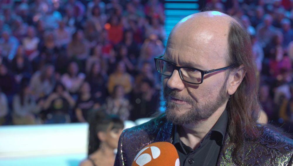"""Santiago Segura: """"He estado muy feliz de ocupar el sitio de Carlos Latre"""""""