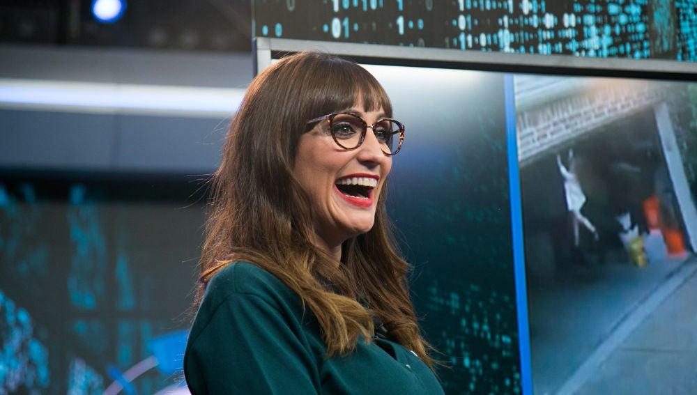 Ana Morgade presenta a los súper villanos de Internet en 'El Hormiguero 3.0'