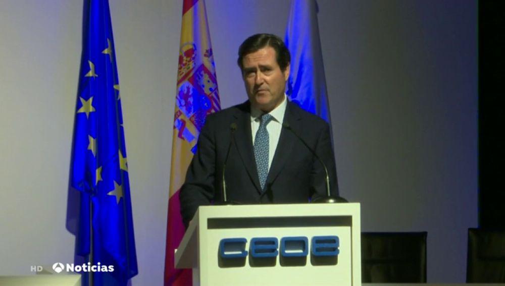 REEMPLAZO | Antonio Garamendi, nuevo presidente de la CEOE por aclamación