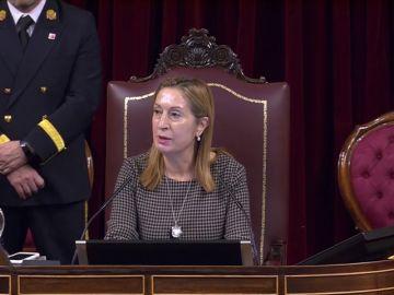 La reprimenda de Ana Pastor a Rufián tras expulsarle del Congreso