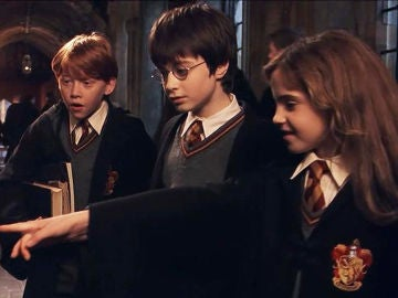 Hermione, Harry Potter y Ron