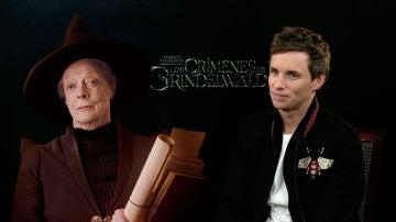 Eddie Redmayne habla de la presencia de McGonagall