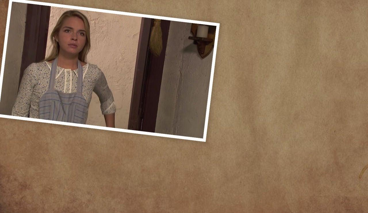 Antolina descubre a Elsa e Isaac