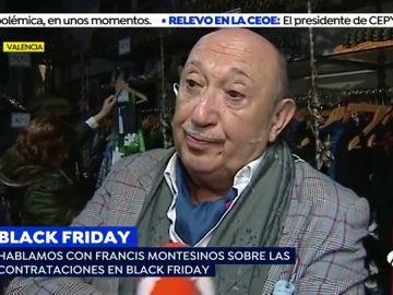 El diseñador Francis Montesinos adelanta el Black Friday para fidelizar a sus clientes con artículos exclusivos