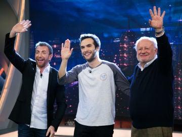 VÍDEO: Revive la entrevista completa de Juan Echanove y Ricardo Gómez en 'El Hormiguero 3.0'
