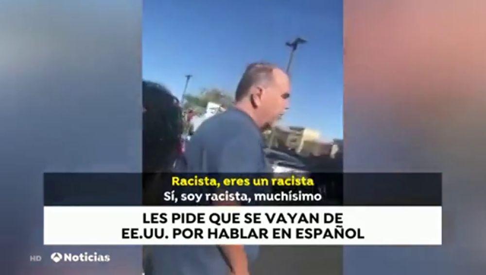 Un hombre insulta a dos mujeres por hablar español en Las Vegas