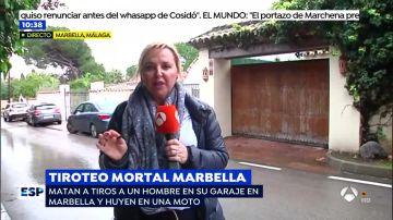 Tiroteo en Marbella