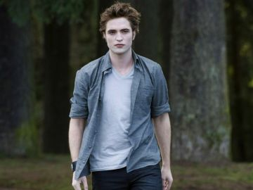 Robert Pattinson en 'Crepúsculo'