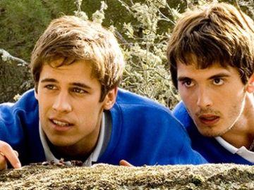 Martín Rivas y Jon González en 'El Internado'