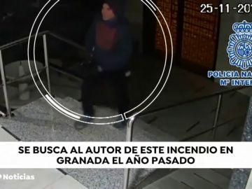 VÍDEO | Buscan al autor de un incendio en el que murió una mujer en Granada