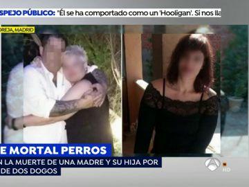 Agresión mortal de dos perros a una madre y una hija.