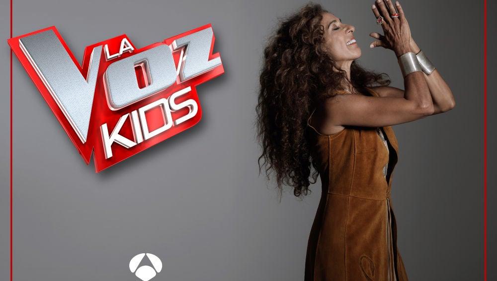 Rosario Flores, coach de 'La Voz Kids'