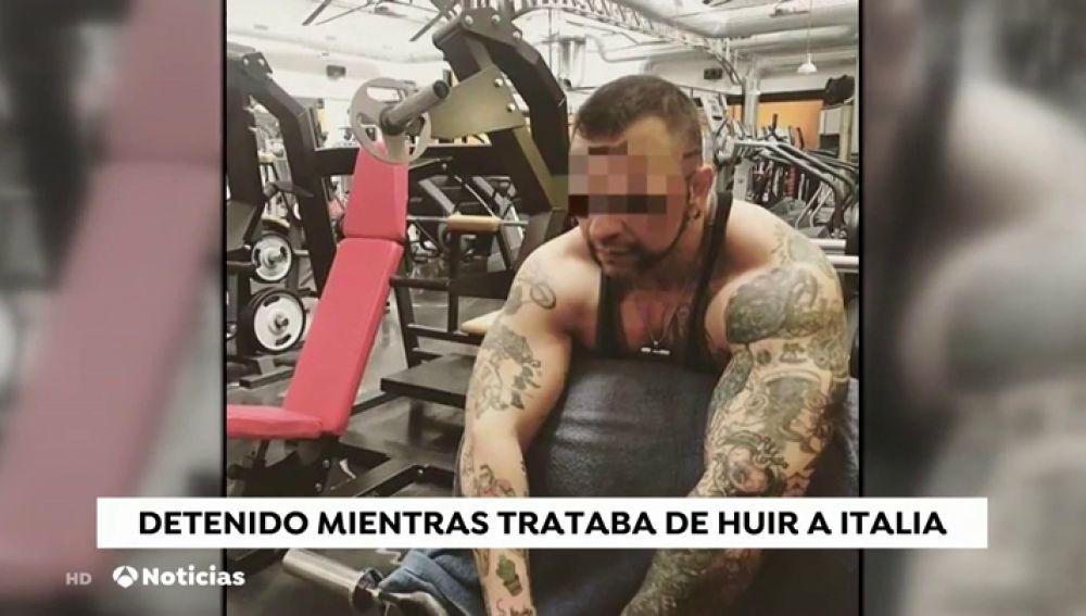 El hombre que arrojó ácido a su expareja en Tenerife es conocido como Matteo Hulk por su afición a las pesas