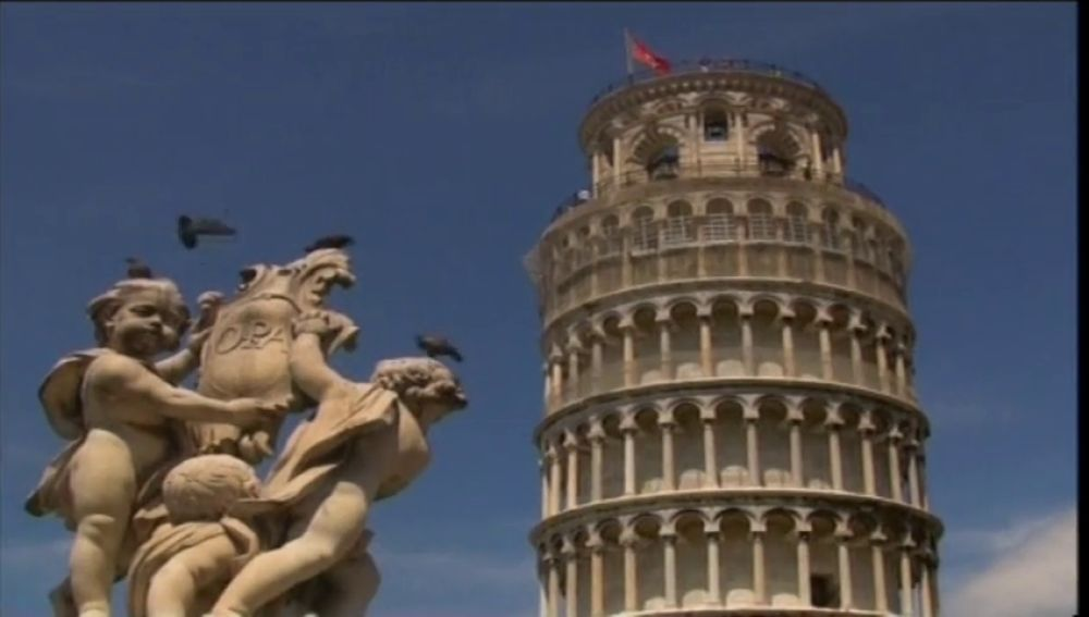 La Torre de Pisa se endereza cuatro centímetros en 17 años