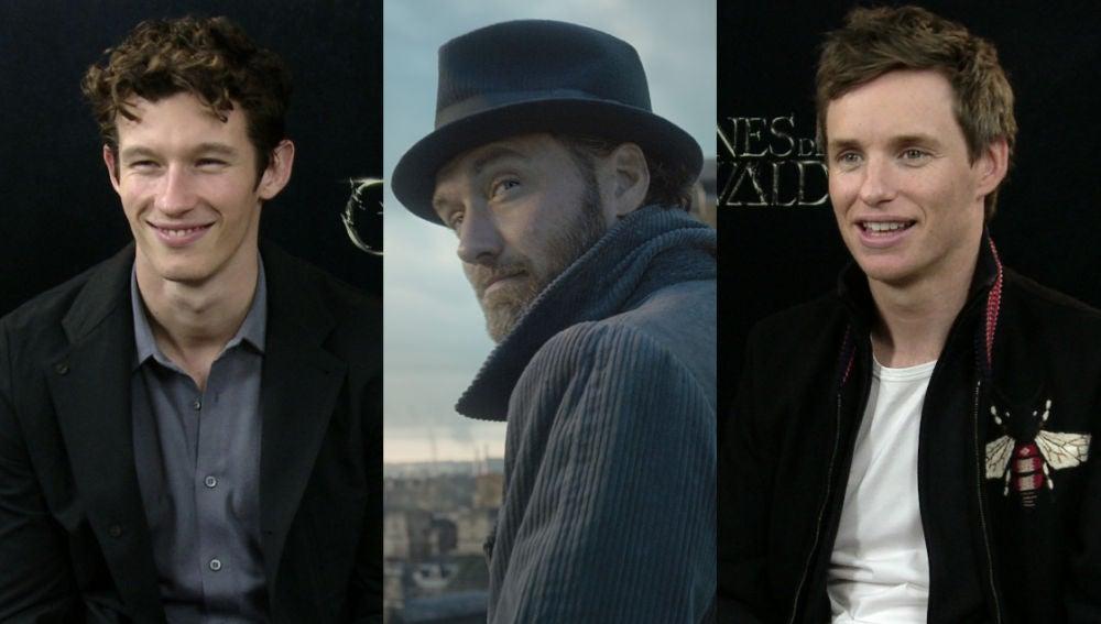 Theseus, Dumbledore y Newt en 'Animales Fantásticos 2'