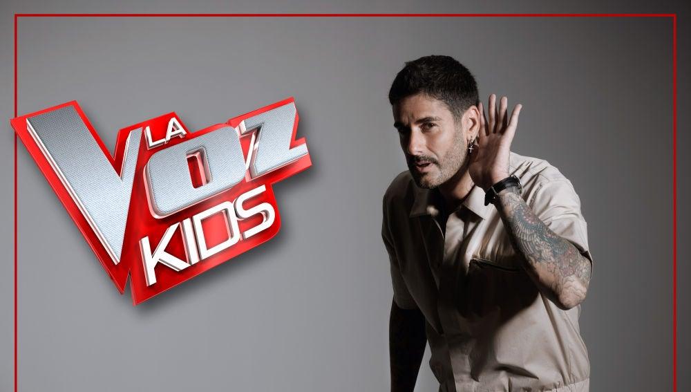 Melendi, coach de 'La Voz Kids'