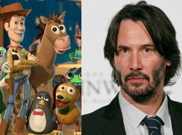 'Toy Story 4' y Keanu Reeves