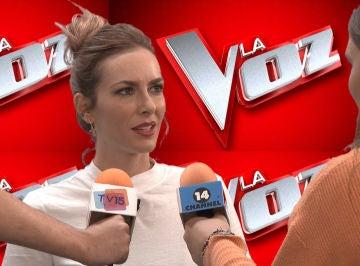 El despiste con el que Kira Miró termina en el plató de 'La Voz'