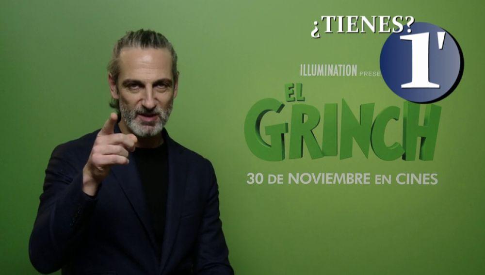 Ernesto Alterio nos revela en un minuto a qué famoso le robaría su regalo de Navidad