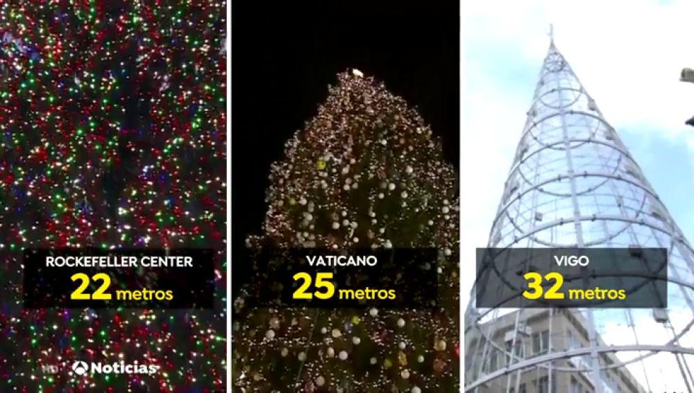 9db3f9f7361e9 El árbol de Navidad de Vigo es más grande que el de Nueva York o El ...