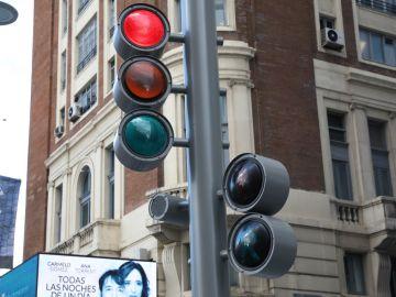 Nuevos semáforos de la Gran Vía (Madrid)
