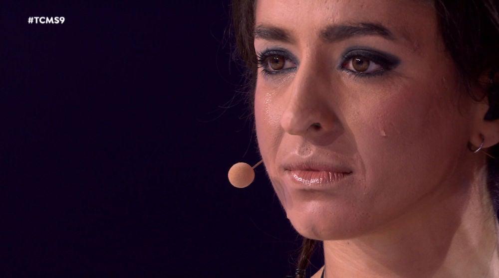Las lágrimas más sinceras de Mimi tras la emotiva valoración del jurado