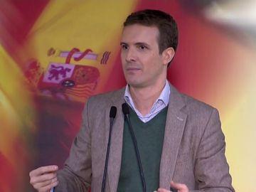 """Casado apoya el veto de Sánchez por Gibraltar aunque """"llegue tarde y mal"""" para evitar un acuerdo """"deshonroso"""""""