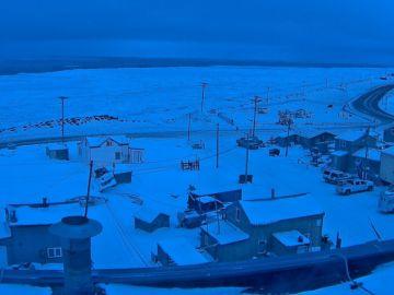 Noche polar en Utqiagvik