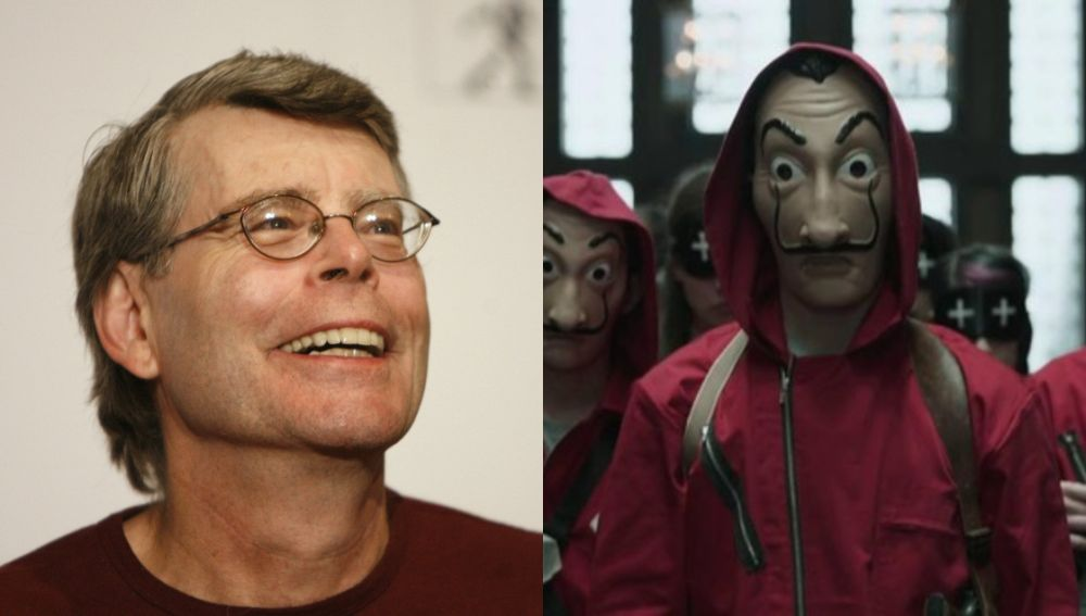 Stephen King ya ha visto 'La casa de papel'
