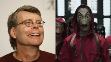 Stephen King ya ha visto 'La casa de papel'