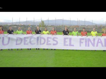 La RFEF lanza un vídeo para sumar fuerzas en la lucha contra la violencia de género