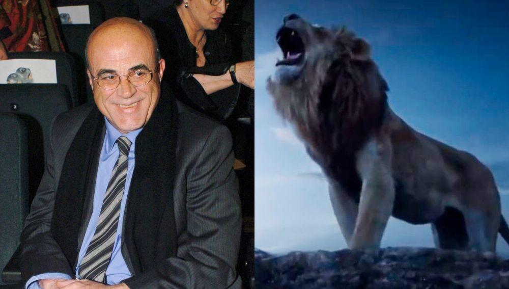 Constantino Romero prestó su voz a Mufasa
