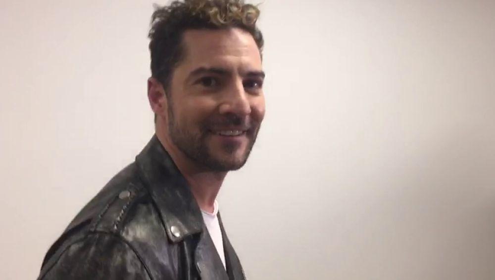 Acompañamos a David Bisbal en el backstage de 'La Voz Senior'
