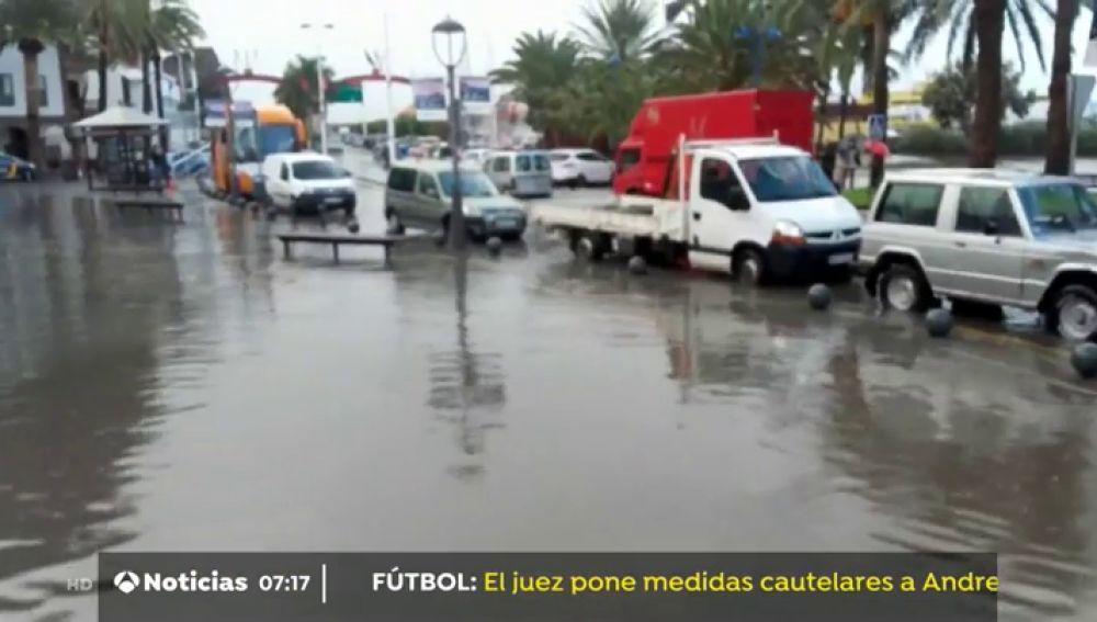 Las lluvias descargan casi 100 litros por metro cuadrado en La Palma