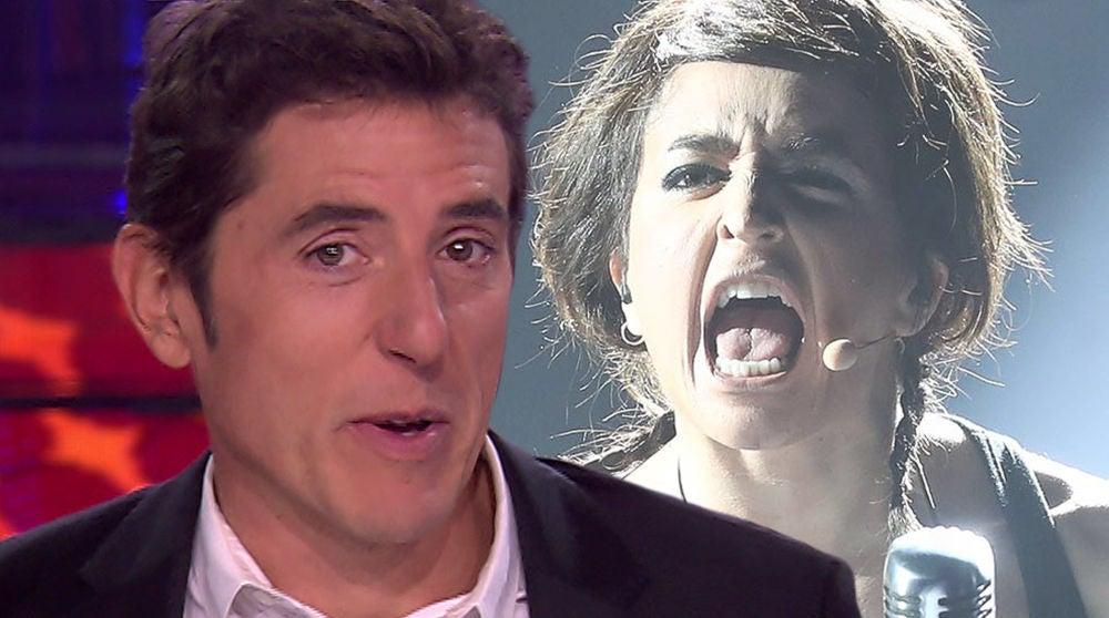 Un emocionado Manel Fuentes muestra su conmoción con el himno 'Malo' tras la actuación de Mimi